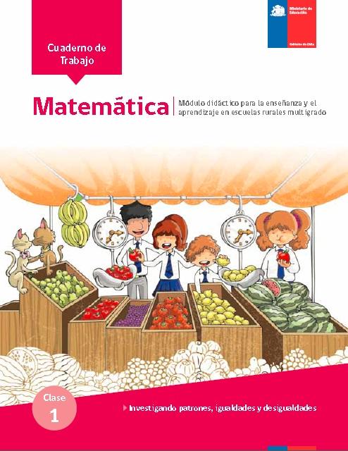Módulos Multigrado Matemática Educación Rural