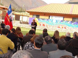 Presidenta en Encuentro Regional Profesores Rurales Paihuano 4